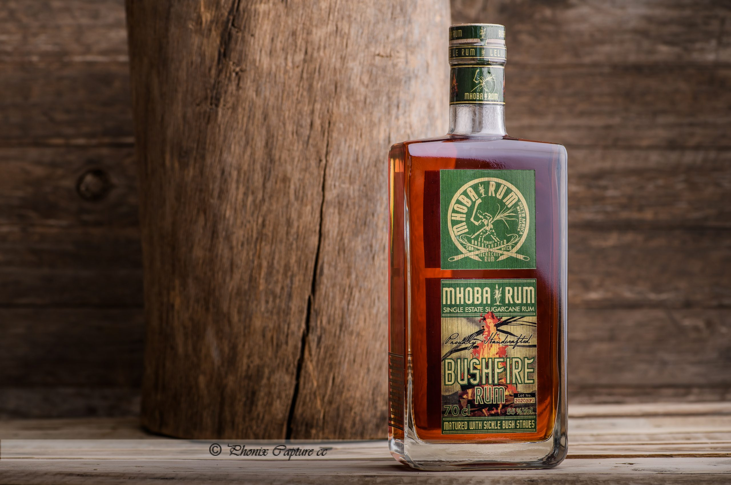 Another wonderful local product from the lowveld Is Mhoba Rum made in Malelane. This time we did some more pack shots as well as Merchandise.