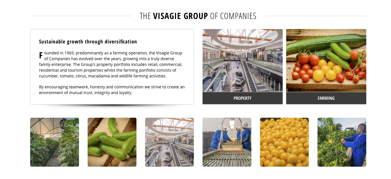 I was busy rearanging some content and found these Photographs that we did a few years back for the Visagiegroup. Just out of interests I went on their website to see if the are still using them. And they are! Photography is an investment, and if done properly you can use them for a few […]